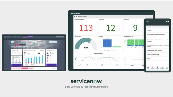 Servicenow safe workplace